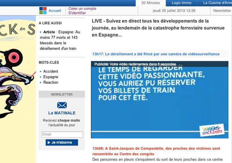 Mauvais timing pour la publicité de la SNCF