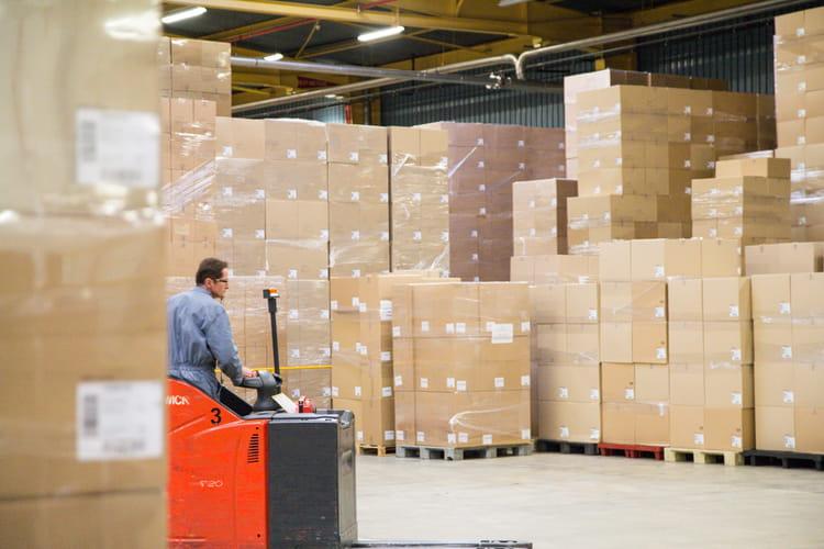 22 000 m² consacrés au stockage