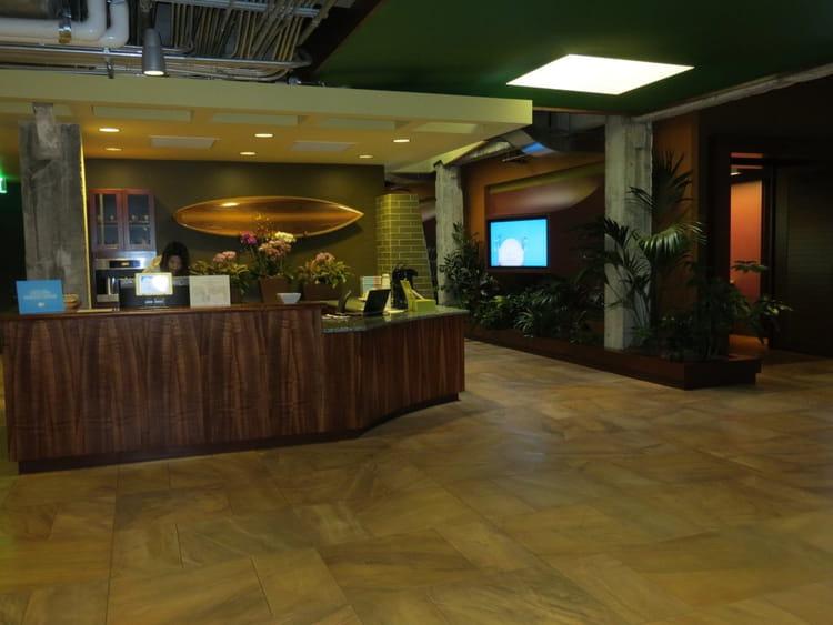 Le centre d'accueil des clients