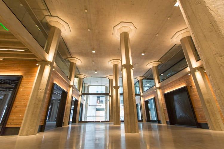 Un hall d'entrée tout en hauteur