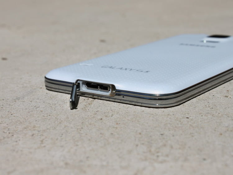 Chargement du Galaxy S5