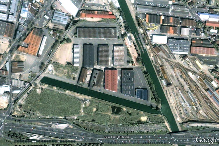 Le site d 39 un futur centre commercial aubervilliers en - Centre commercial porte d aubervilliers ...