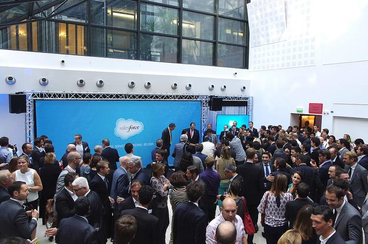 Salesforce, c'est 300salariés en France