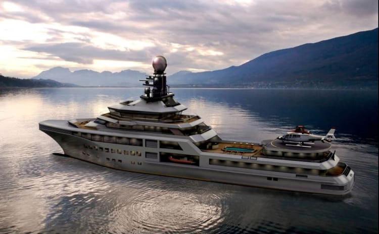 Super Yacht super luxe