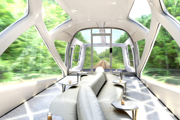 Wagon panoramique