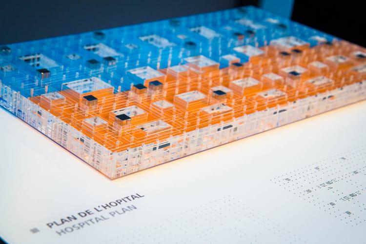 Des hôpitaux en Rubik's cube