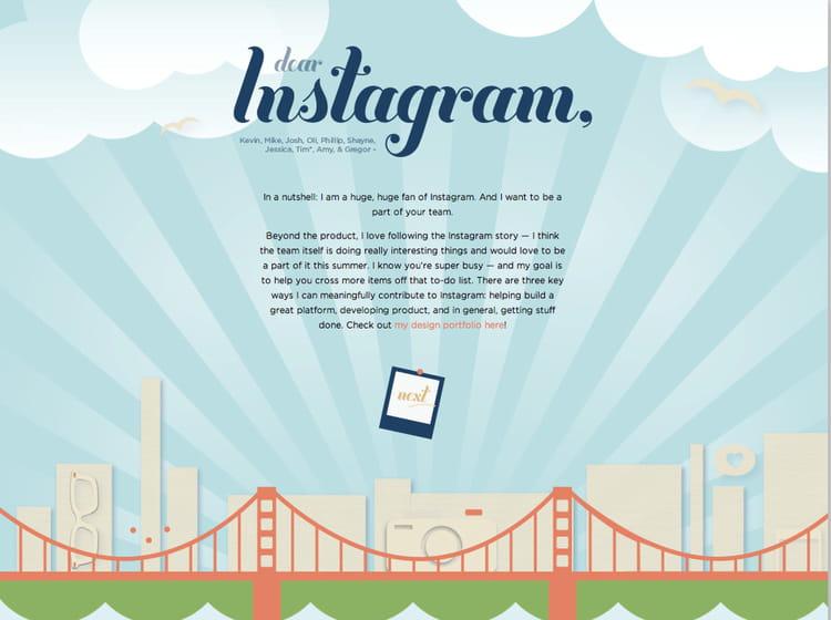 le cv instagram   les cv les plus originaux sur internet