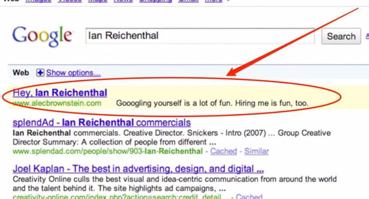 CV Google Adwords