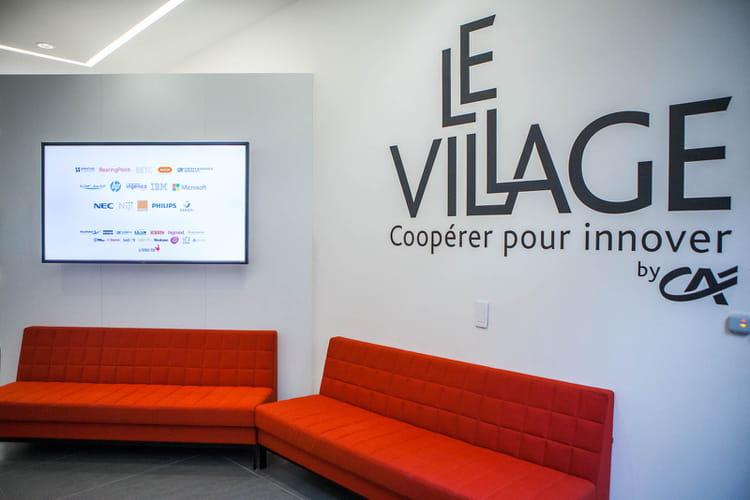 Accueil du Village by CA