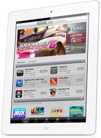 l'ipad 2 et sa place de marché d'application, l'app store