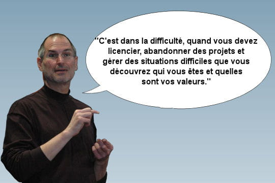 Steve Jobs et son poste