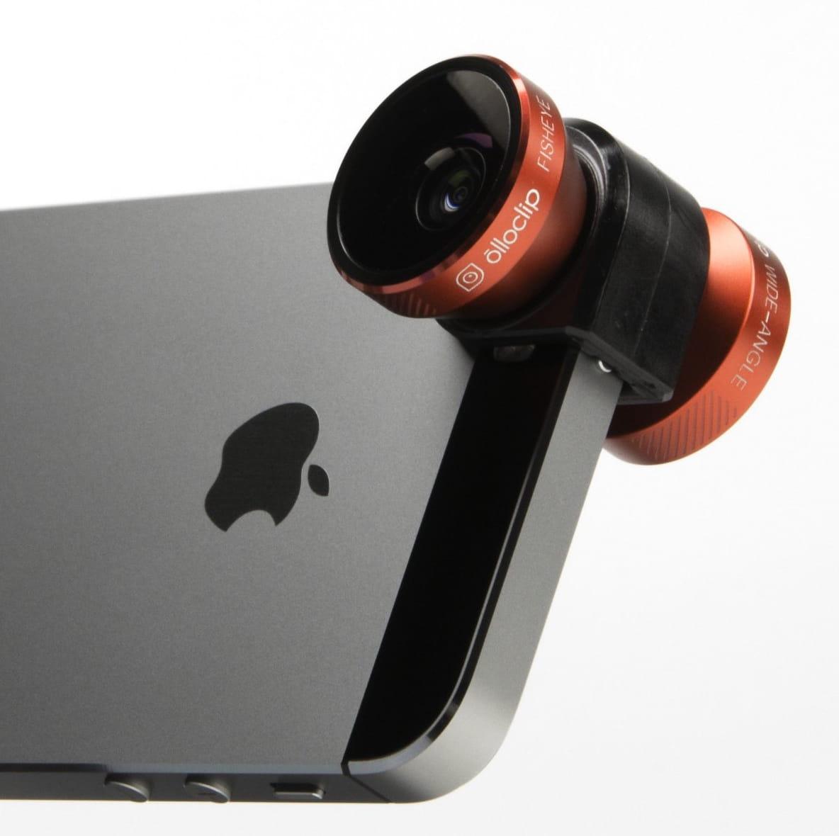 la lentille 4 en 1 d 39 olloclip top 10 des meilleurs accessoires pour iphone 6 jdn. Black Bedroom Furniture Sets. Home Design Ideas