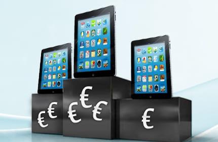 combien coûtent les applications ipad ?