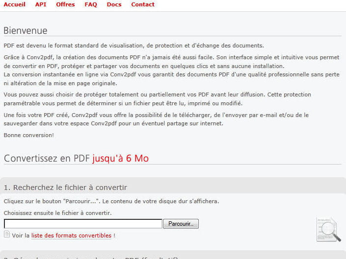 Convertir un fichier en pdf 60 sites incontournables - Convertir fichier pdf en open office ...