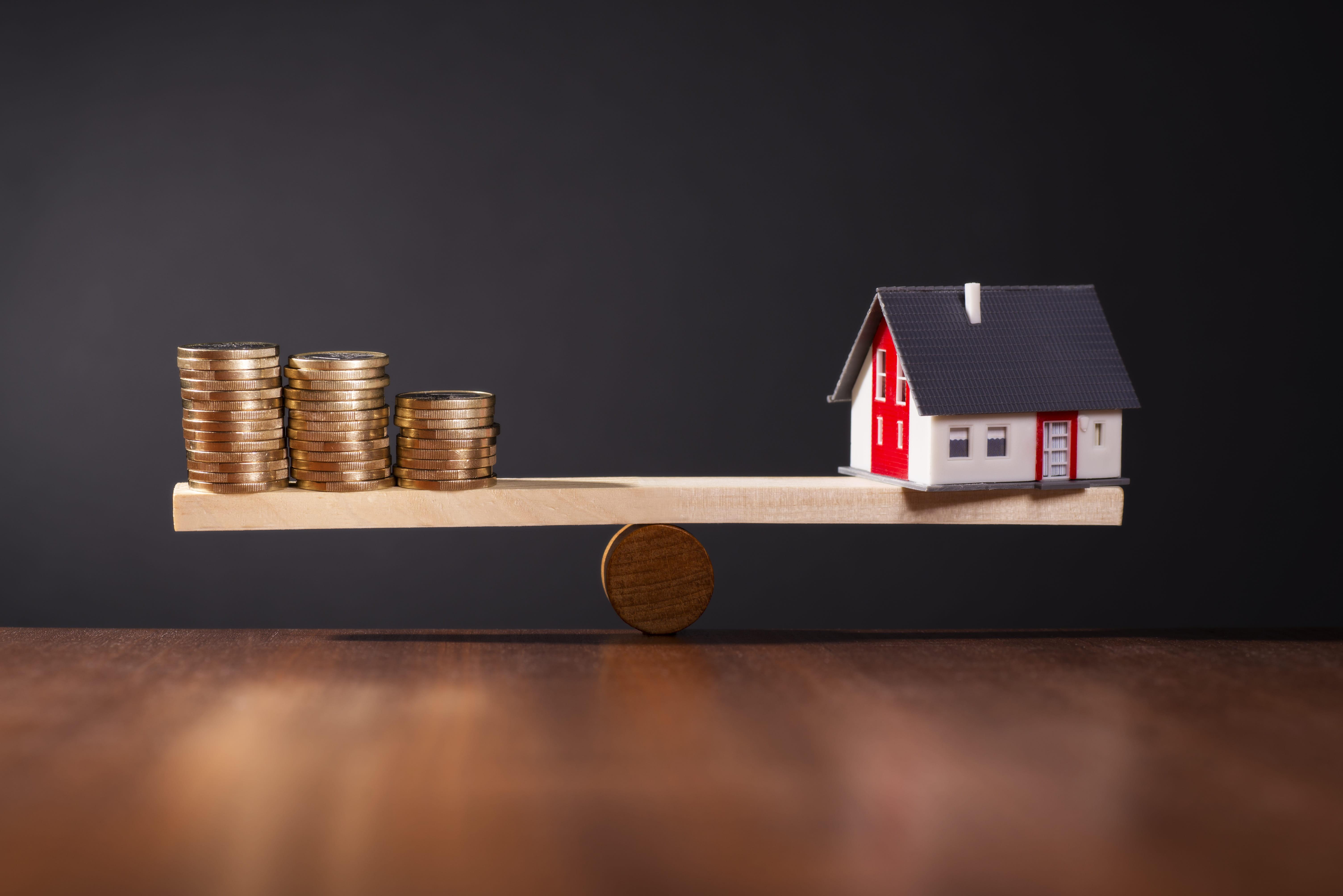 economie immobilier  taux