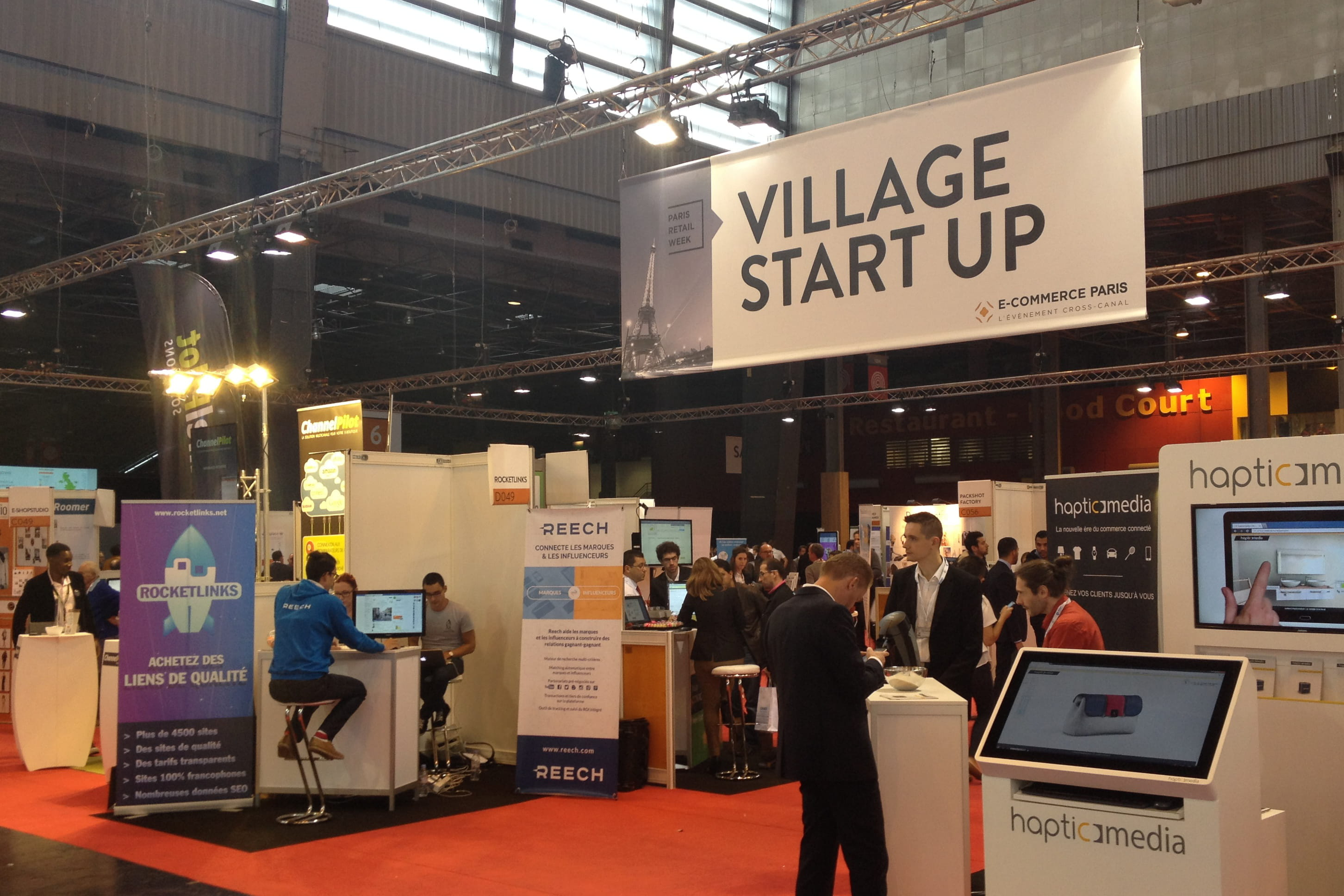 Les 5 start up les plus innovantes d e commerce paris 2015 for Salon e commerce paris 2017