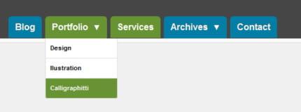 menu déroulant sous-menu javascript télécharger