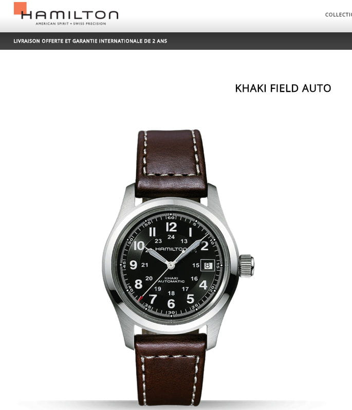 hamilton khaki field 10 montres pris es des collectionneurs mais abordables jdn. Black Bedroom Furniture Sets. Home Design Ideas