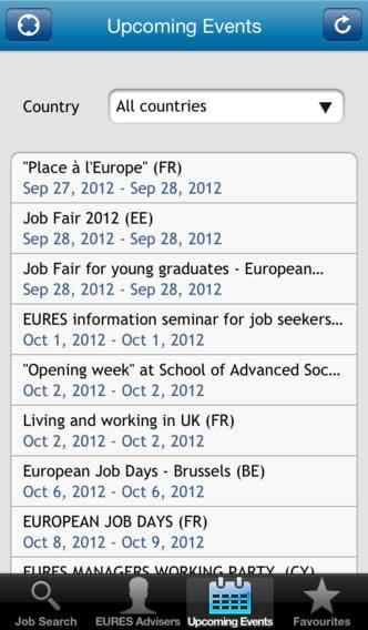 eures app  trouver un emploi partout en europe  u00e0 partir son smartphone   9 applis pour recruter