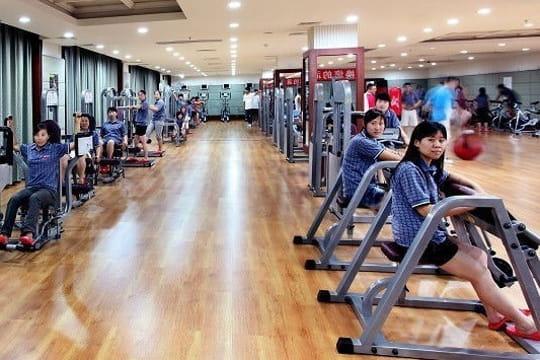 salle de sport flambant neuve   un groupe chinois s u0026 39 offre