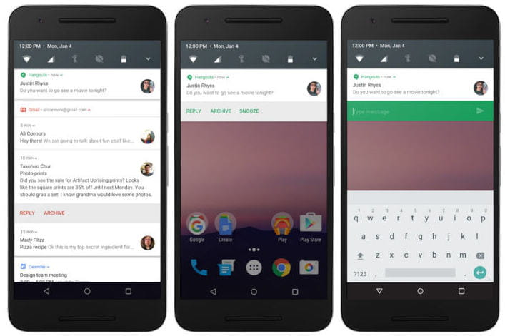 Android n disponible en developer preview avec le multi for Multi fenetre android