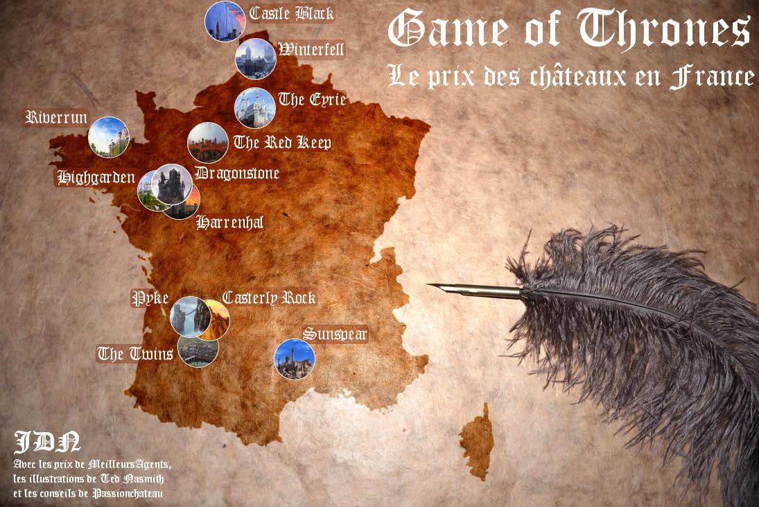 game of thrones en france winterfell co terait 215 millions d 39 euros jdn. Black Bedroom Furniture Sets. Home Design Ideas