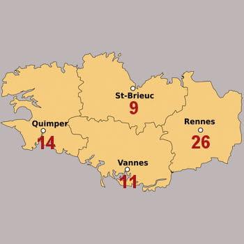 Bretagne 121 Franchis 233 S 224 Recruter D Ici 2013 Quelle