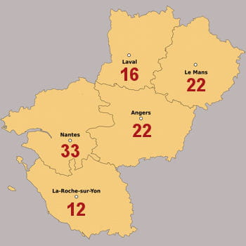 Pays de la loire 127 franchis s recruter d 39 ici 2013 for Cash piscine la roche sur yon