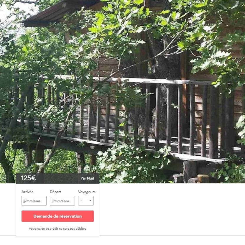 vous pouvez mettre en location une cabane dans les bois. Black Bedroom Furniture Sets. Home Design Ideas
