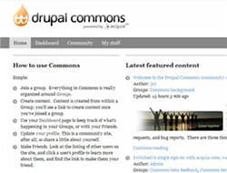 drupal peut compter sur le dynamisme de l'une des communautés open source les
