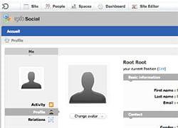 la version 1 d'exo social est sortie en mai 2010