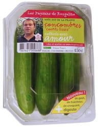 les paysans de rougeline commercialise ses légumes en barquette avec photo et