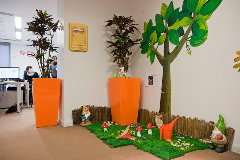 Un concours pour d corer les bureaux dans les coulisses de criteo jdn - Decorer un bureau ...