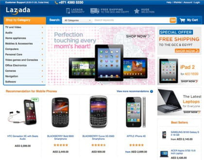 lazada, la copie de rocket internet