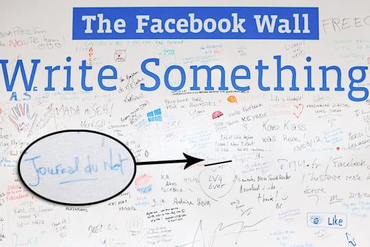 JDN sur le Facebook Wall