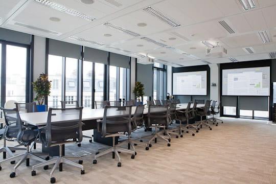 Grande salle de réunion Facebook France