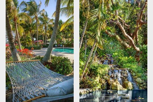 Pour le hamac une piscine ou une cascade little bokeelia l 39 le qui valait 30 millions de - Dimension piscine pour ne pas payer d impot ...