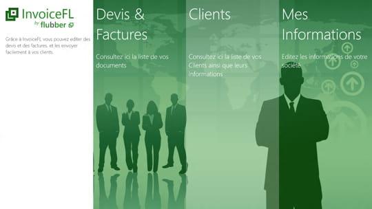 InvoiceFL : une application Windows 8 pour les pro