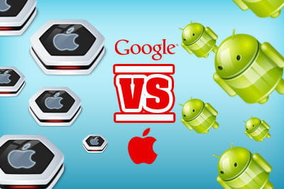 Apple vs Google mobile