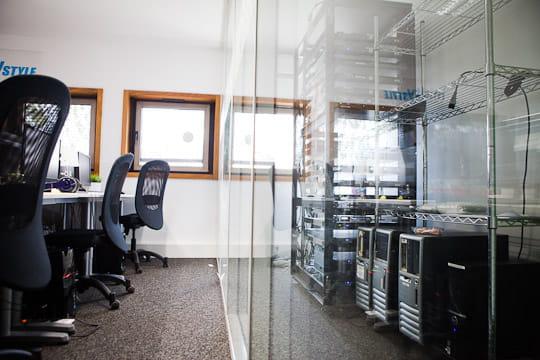 Melty Network : salle des serveurs