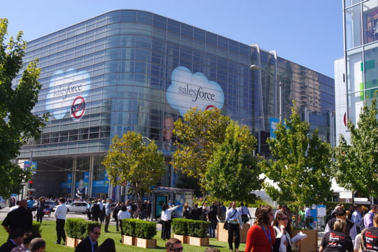Moscone Center : Salesforce contre Oracle