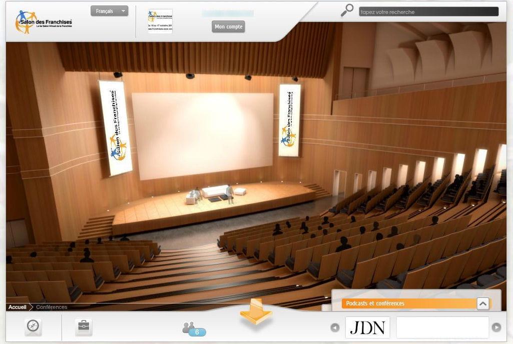 Salle De Conf Rences Salon Virtuel Des Franchises