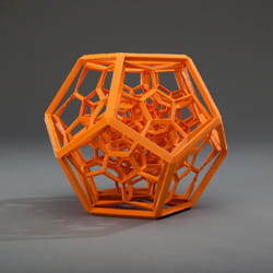 les imprimantes 3d peuvent fabriquer des formes complexes.