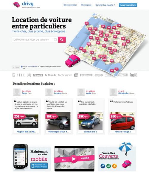 drivy pour louer la voiture de son voisin les nouveaux concurrents du taxi jdn. Black Bedroom Furniture Sets. Home Design Ideas