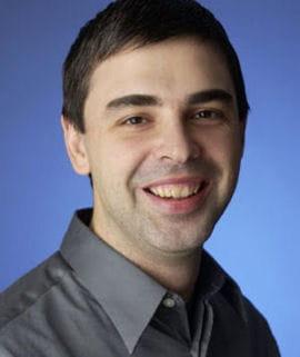 <b>Larry Page</b>, co-fondateur et CEO de Google. - 1678096-larry-page-pere-de-google-et-defenseur-des-energies-renouvelables