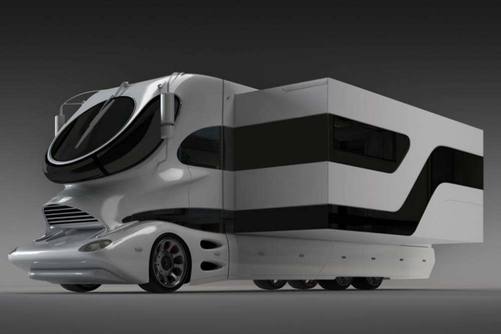 un espace modulable un camping car 3 millions de dollars la derni re folie de duba jdn. Black Bedroom Furniture Sets. Home Design Ideas