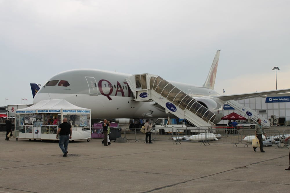 A quoi ressemble le dreamliner de qatar airways jdn for Interieur qatar airways