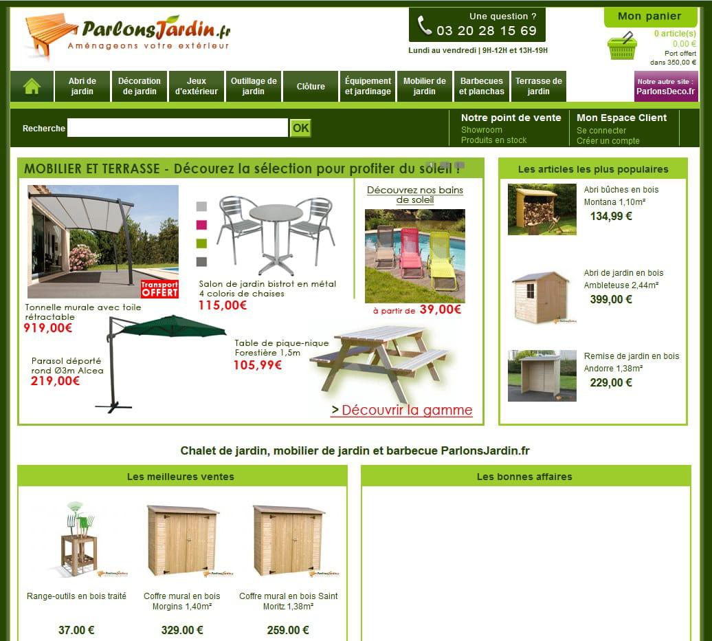 page d'accueil de parlonsjardin.fr