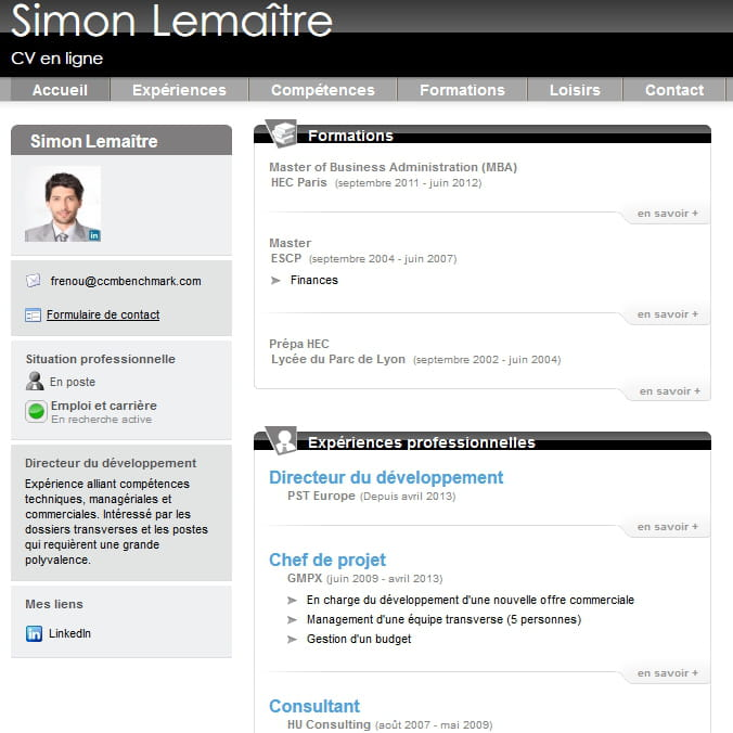 do you buzz pr u00e9sente votre cv en ligne   linkedin   10