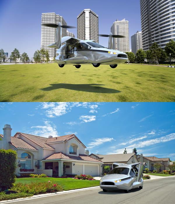 terrafugia la voiture volante 12 concepts pour le transport du futur jdn. Black Bedroom Furniture Sets. Home Design Ideas